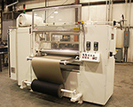 Hot melt roller coater and hot melt applicator.
