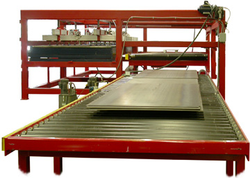 Automatic Steel Sheet And Plate Feeder De Stacker